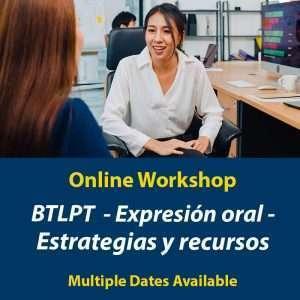 BTLPT taller de expresion oral