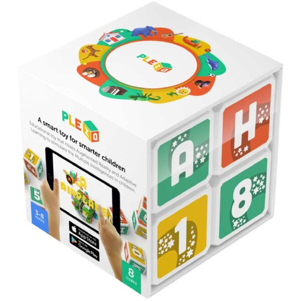 Pleiq Bilingual Smart Cubes and App