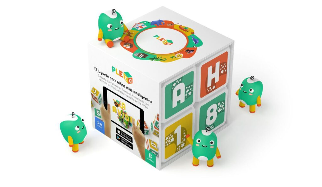 PleIQ Bilingual Educational Smart Cubes
